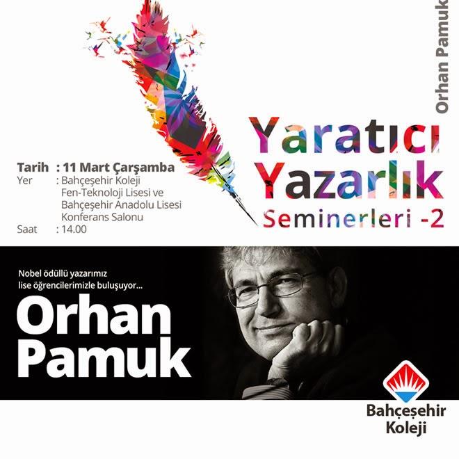 Orhan Pamuk Bahçeşehir Koleji