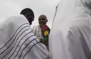 'Buhari Not Coming Back, Stand In The Way Of Biafra And Be Destroyed'- IPOB Leader Nnamdi Kanu Warns