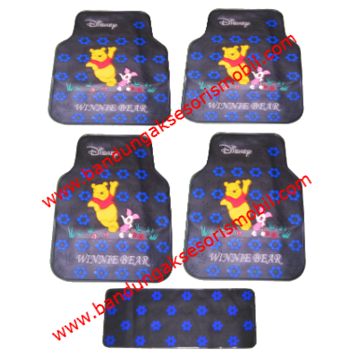 Karpet Winnie The Pooh Blue Perancis