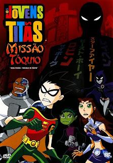 Os Jovens Titãs: Missão Tóquio - DVDRip Dublado