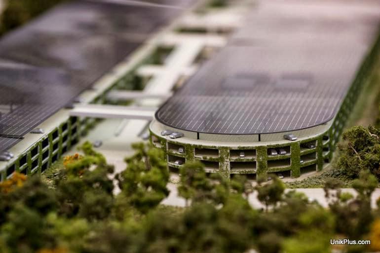 Apple Spaceship Campus, markas baru Apple di Cupertino [Desain] - UnikPlus.com