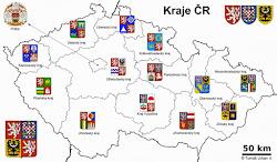 Csehországi Kerületek