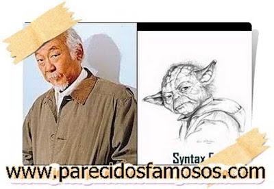 MR  Miyagi con Master Yoda