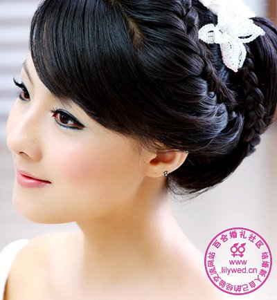 Asian Korean Chinese Japanese Etc Wedding Hairstyles