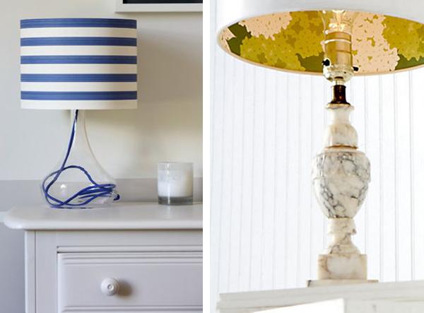 10 ideas para utilizar papel pintado sin ser en paredes - Papel pintado para decorar paredes ...