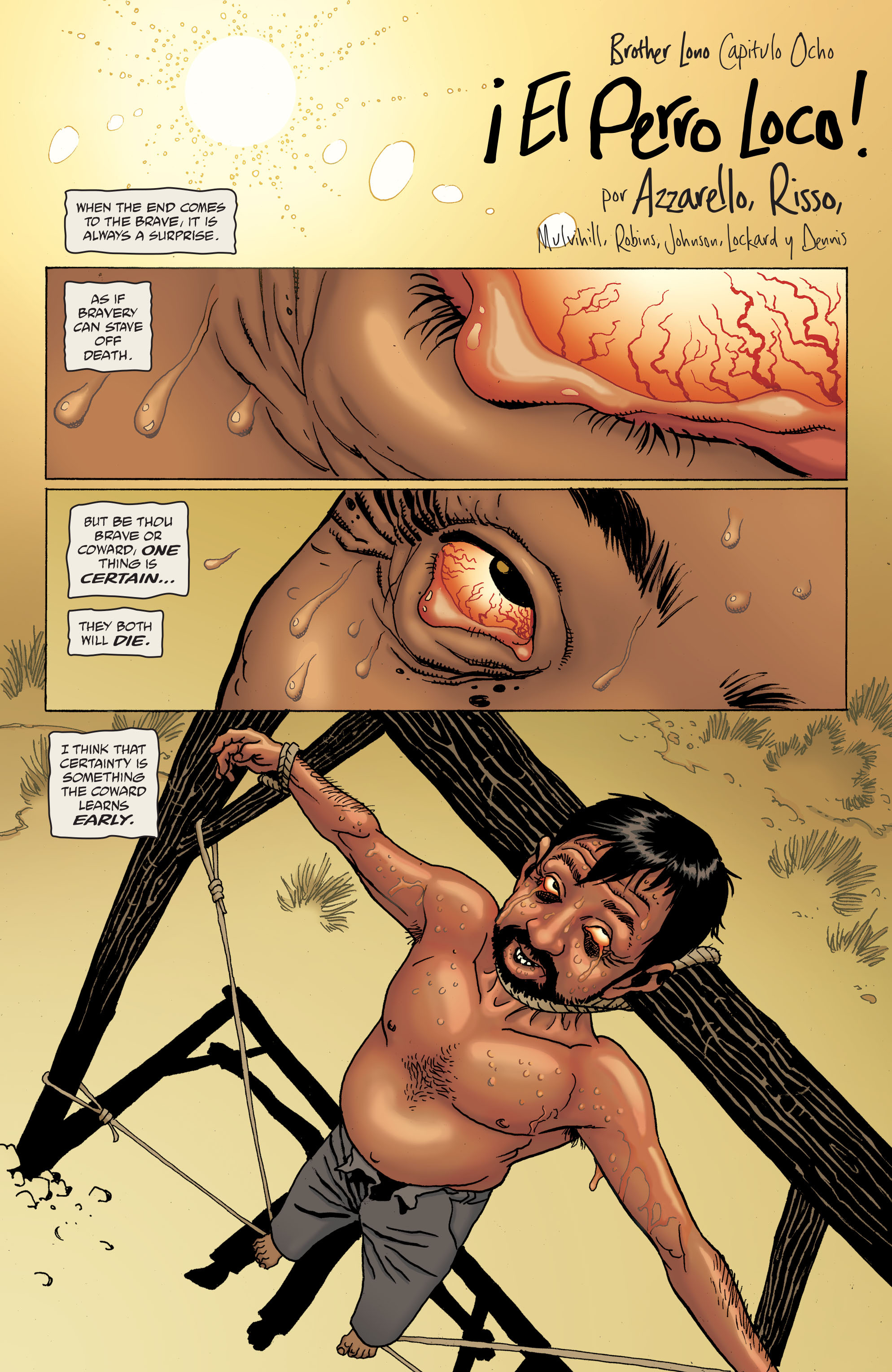 100 Bullets: Brother Lono Full Page 168