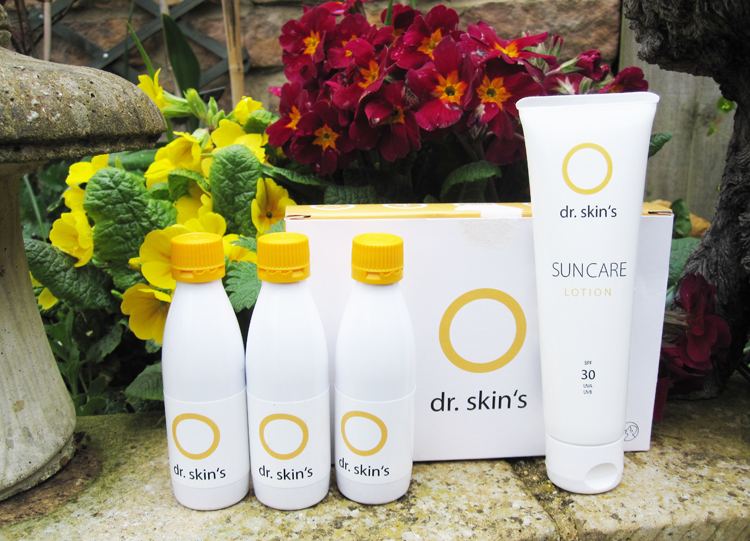 dr.skin's Suncare Lotion SPF 30 and Skin Protection Drink review