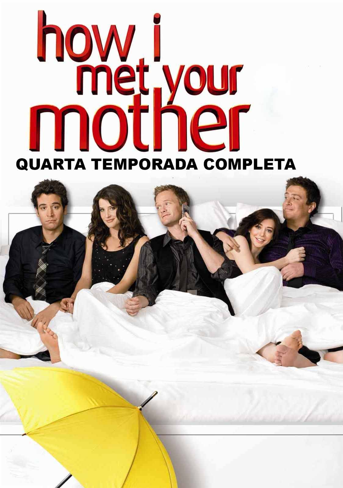 How I Met Your Mother 4ª Temporada Torrent - WEB-DL 720p Dual Áudio