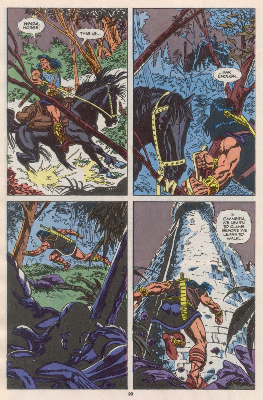 Conan the Barbarian (1970) Issue #242 #254 - English 17