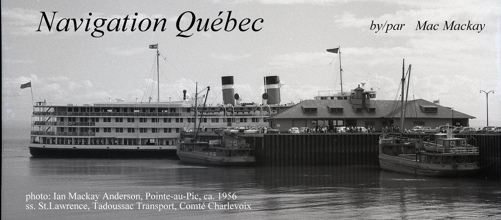 Navigation Québec