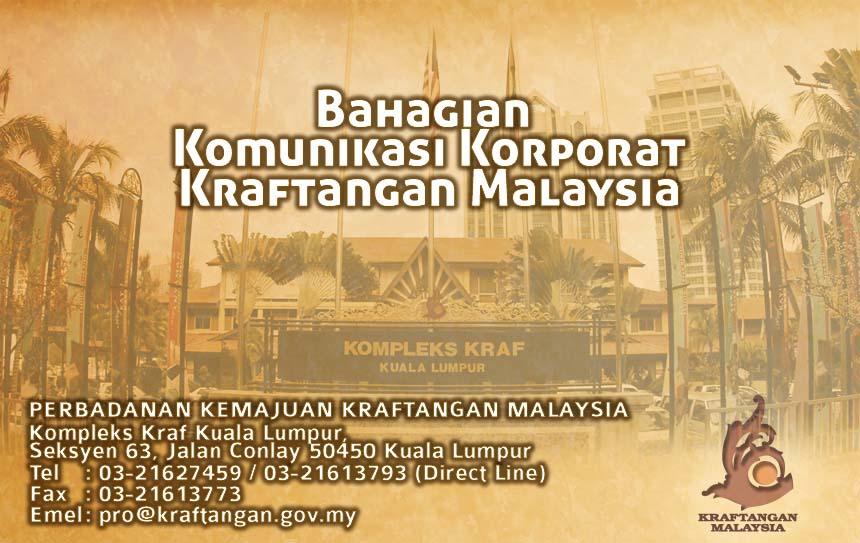 BAHAGIAN KOMUNIKASI KORPORAT KRAFTANGAN MALAYSIA