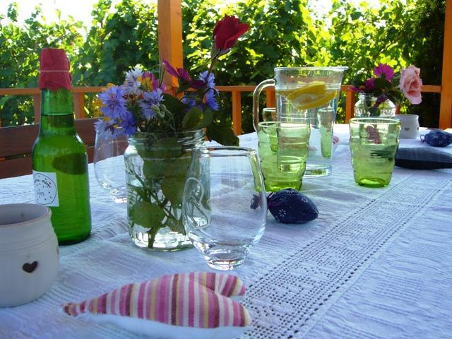 Kerti parti dekorációk  A napfény illata