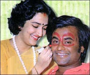 Superstar Rajinikanth and Latha Rare photos