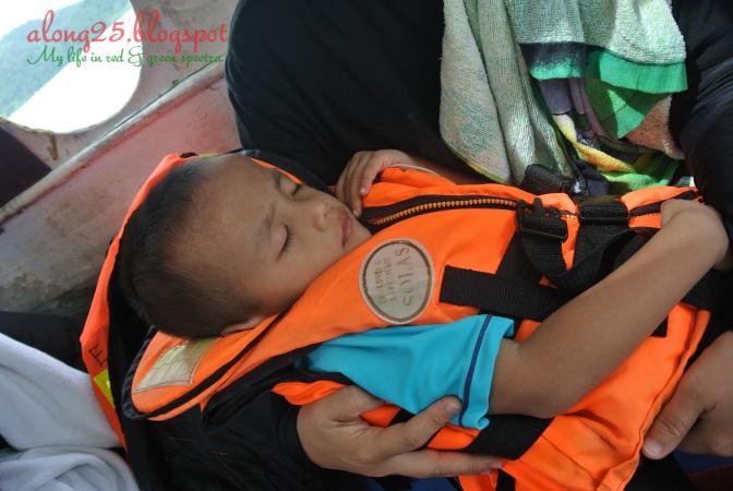 blog along25 trip to langkawi cuti-cuti malaysia island hopping budak-budak