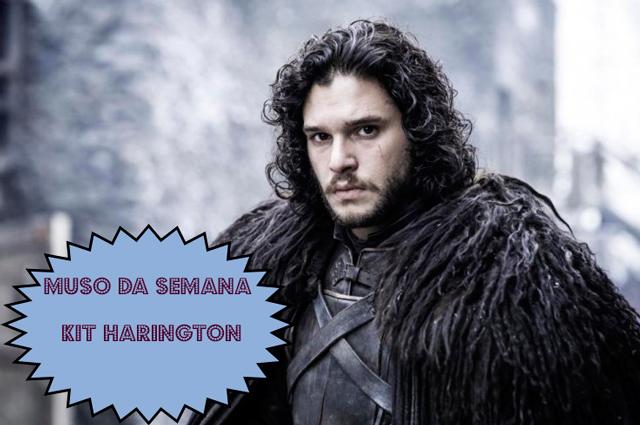 Kit Harington, o Jon Snow da série Game of Thrones (foto: divulgação)