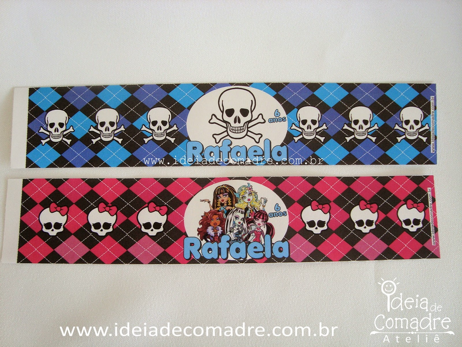 papelaria para monster high