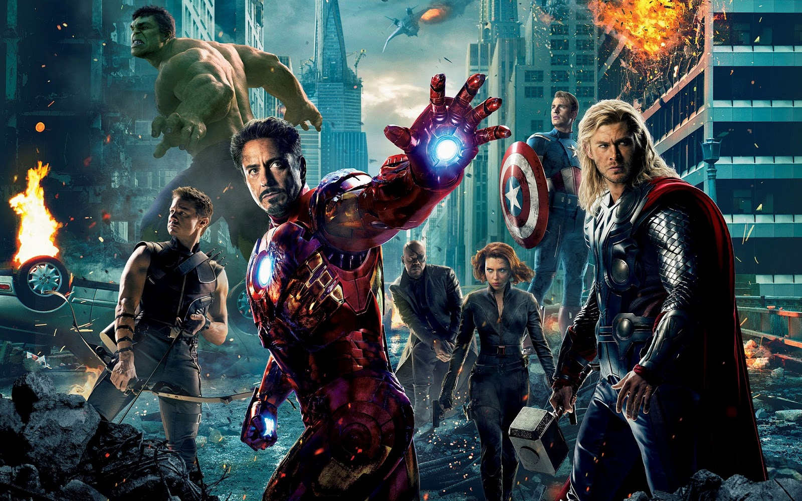 The Avengers Wide