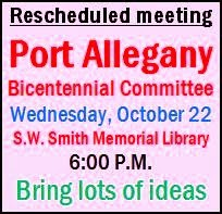 10-22 Port Allegany Bicentennial Meeting