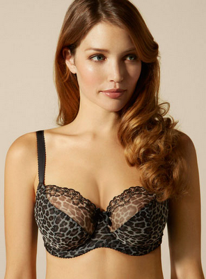 Boux Avenue Keona Animal Print Balconette Bra