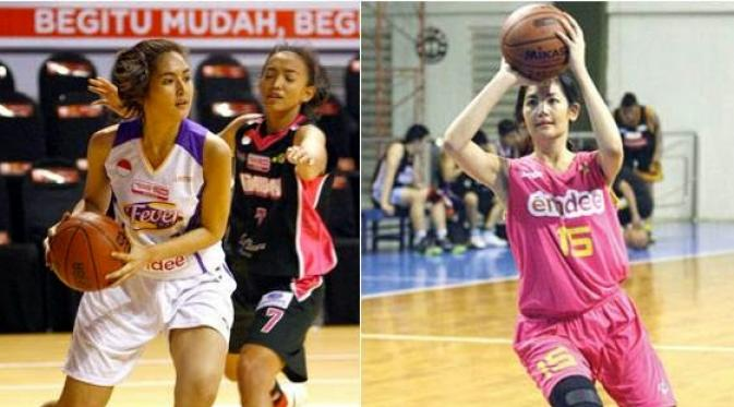 Maria Selena pemain basket cantik indonesia