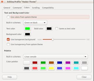 modifikasi tampilan terminal linux ubuntu