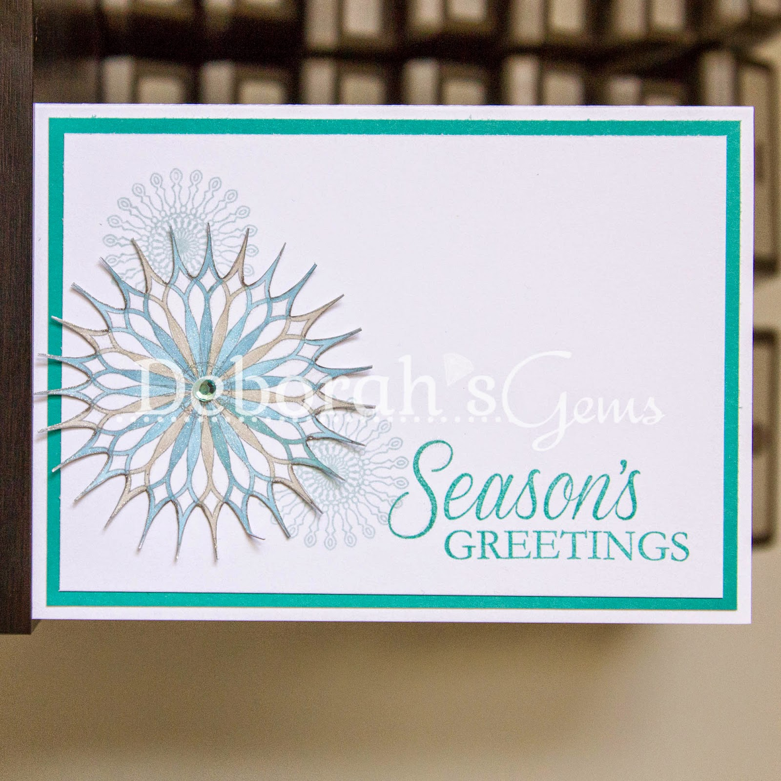 Season's Greetings sq - photo by Deborah Frings - Deborah's Gems