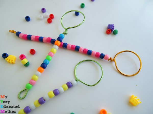Make bubble wands with just a few supplies.