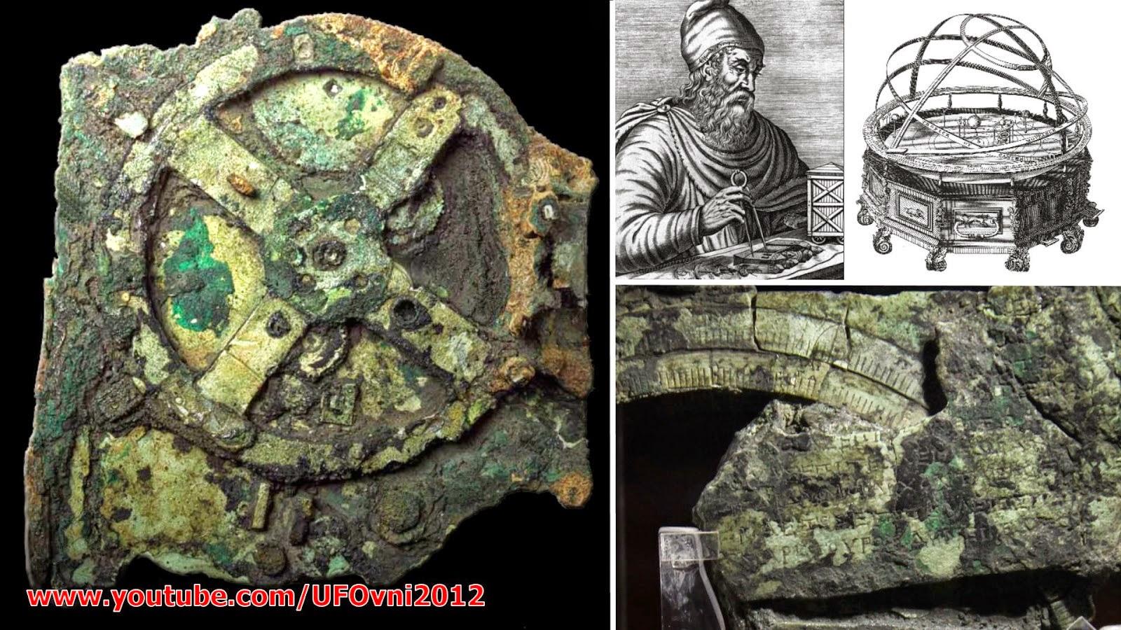 Archimède Invention? Mécanisme d'Anticythère 100 ans de plus que le croyait auparavant