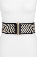 Wide Belts - Fashion Blogger Lipstick & Chiffon