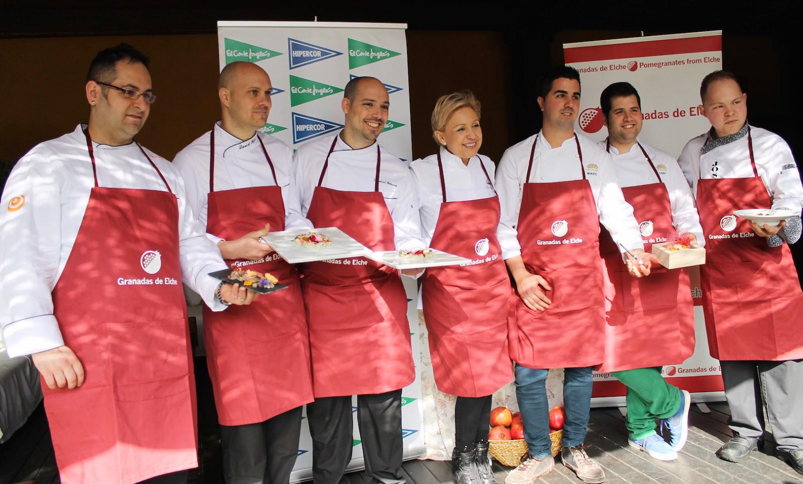 Concursantes Concurso Cocina Creativa Granada Mollar Elche