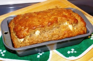 Blue Cheese and Bacon Beer Bread