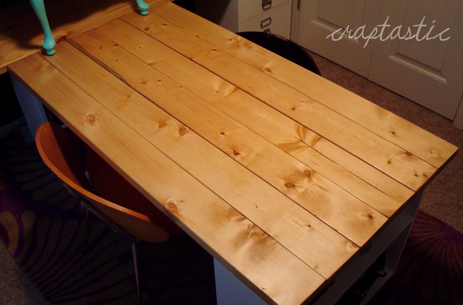 diy desk table l wood hometalk reclaimed resurface top office custom furniture tops modern