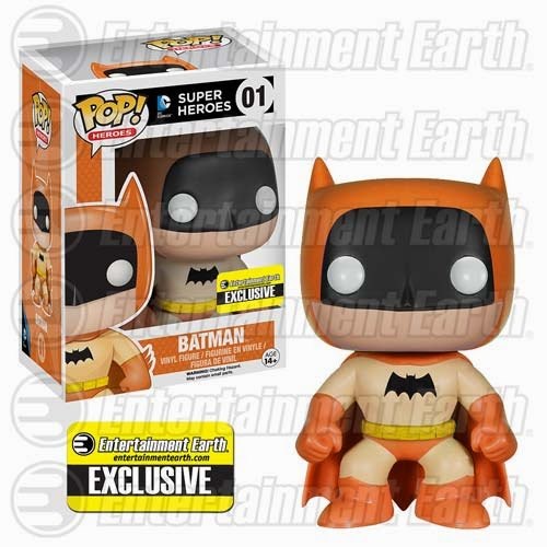 Entertainment Earth Exclusive The Rainbow Batman Pop! Series by Funko - Orange Batman