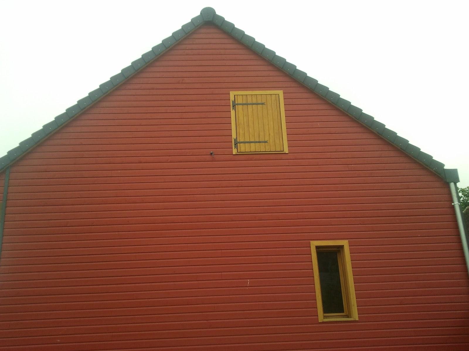 La maison de bois rouge fin des travaux sur les for Avis sur la maison des travaux