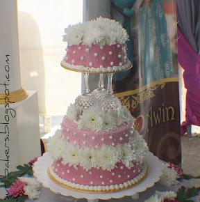 wedding's cake (3 tiers)