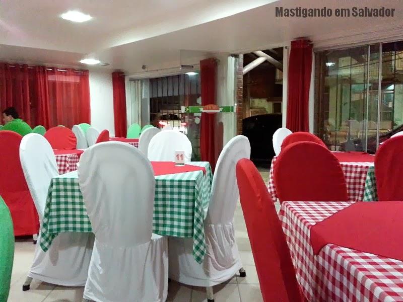 Luna Rossa Pizzeria: Ambiente