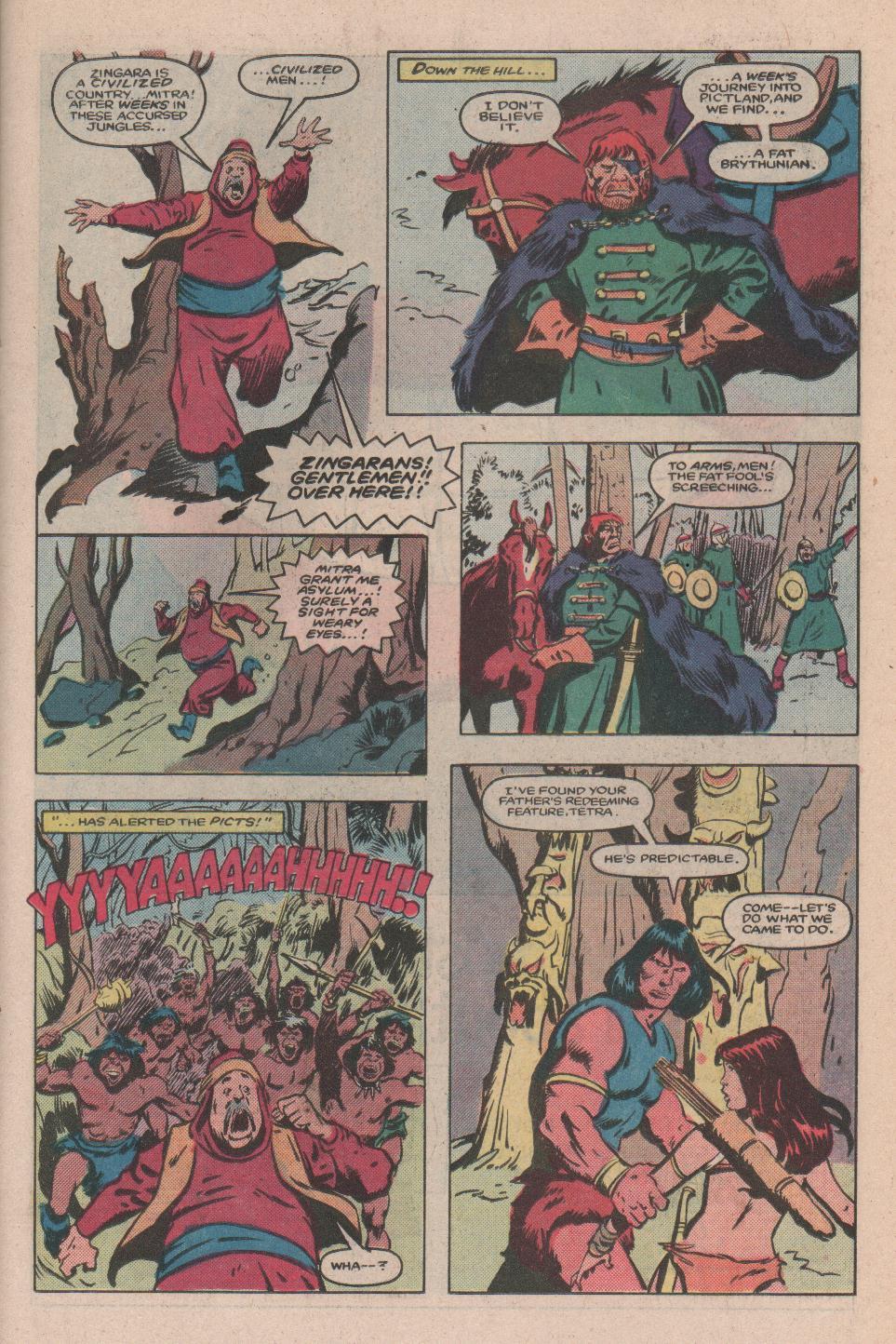 Conan the Barbarian (1970) Issue #173 #185 - English 8