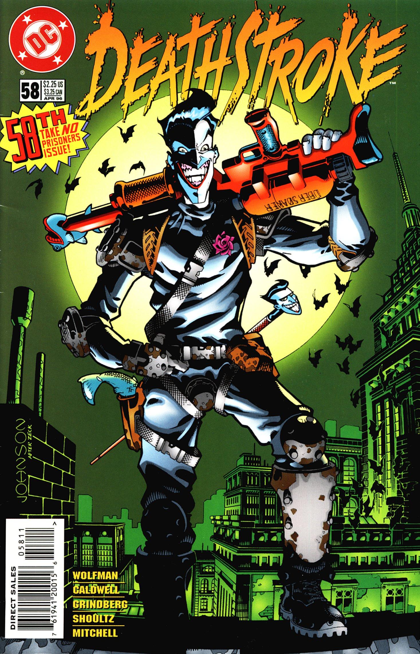 Deathstroke (1991) Issue #58 #63 - English 1