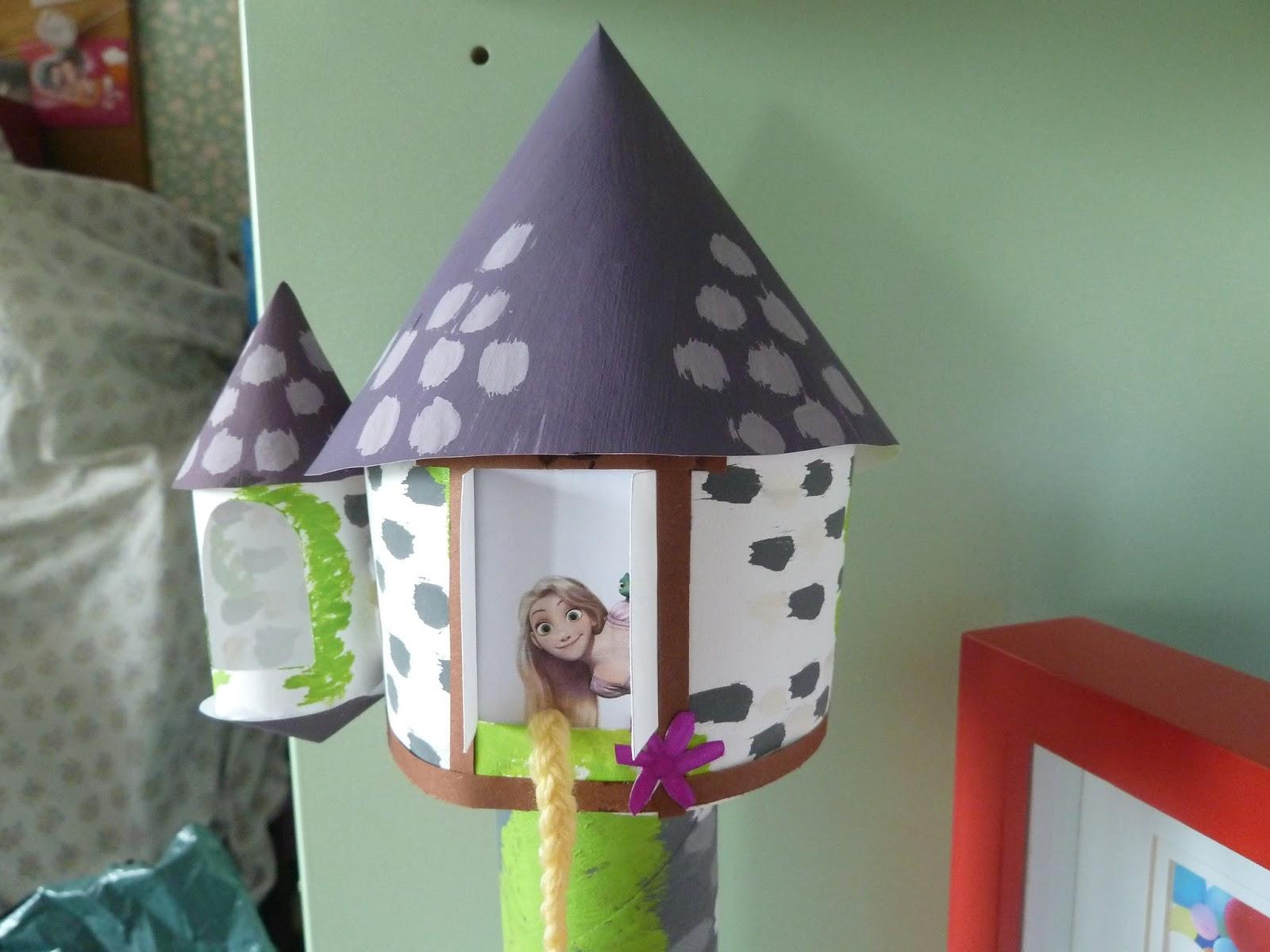 Disney ma passion la tour de raiponce rapunzel tower - Raiponce petite ...