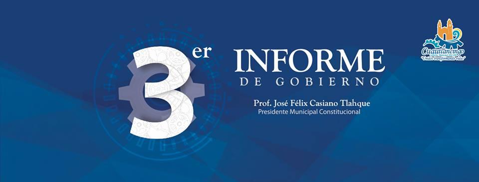 Tercer Informe de Gobierno en Cuautlancingo