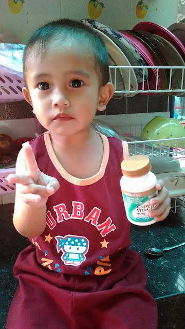 vitamin c kanak kanak
