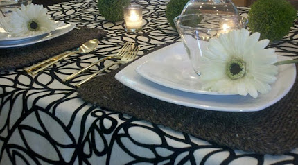 Modern Fern Table Runner
