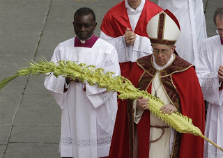Pope Francis - Palm Sunday 2013