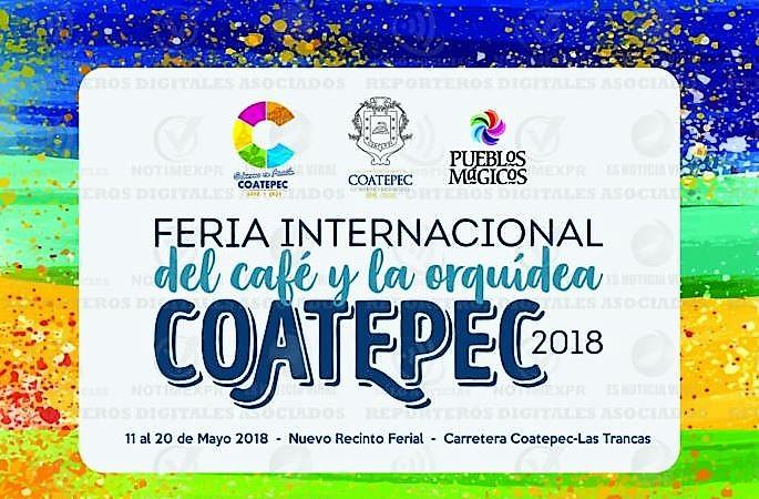 Feria de Internacional del Café y la Orquídea Coatepec 2018
