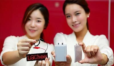lg curve battery
