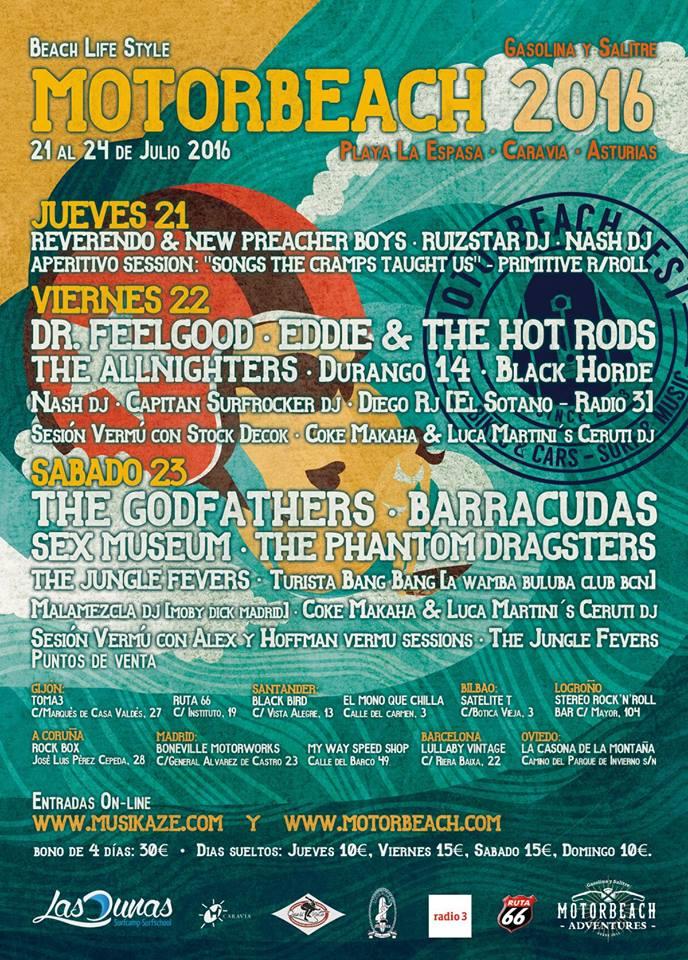 RECOMENDACIÓN!!! - 21-24/07/16<br> Caravia - Asturias