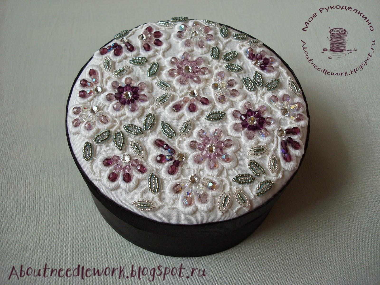 Вышивка бисером шкатулки