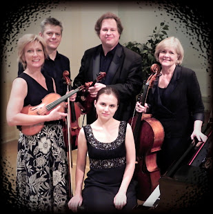 West Edge String Quartet and pianist Anna Bulkina
