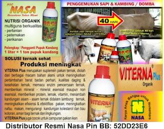 Suplemen Organik untuk semua ternak, unggas, ikan dan udang