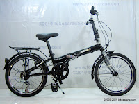 1 Sepeda Lipat NNY My Lifestyle Alloy Frame 20 Inci